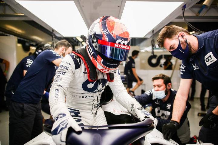 レッドブルの総帥マルコは、角田が「これまでの日本人ドライバーで最も有望な存在になる」と予想する。(C)Getty Images