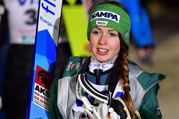 ドイツ出身の女子ジャンパー、ザイファルト。先の世界選手権でも活躍した実力派だ。(C)Getty Images