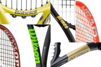 巷に流通する数多くのテニスラケット。普段気にすることはないが、そのブランド名にはそれぞれに興味深い由来がある