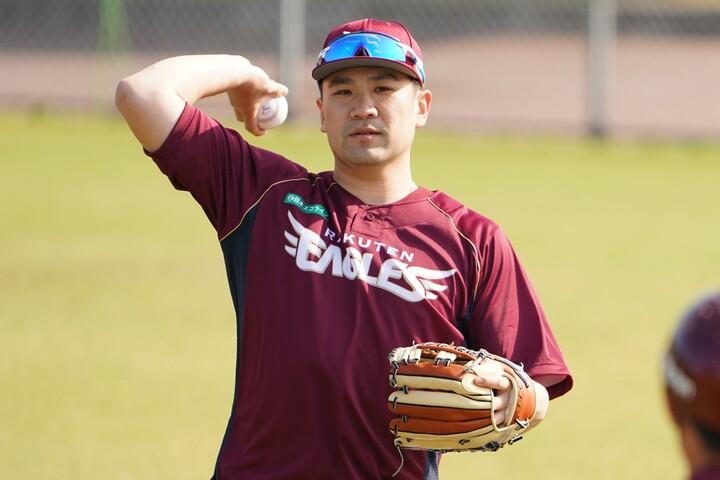 メジャーでも一線級の活躍を見せていた田中(写真)が復帰し、ゴールデンルーキー早川が加わった先発陣の充実度は12球団ナンバー1といっていいだろう。写真:田中研治