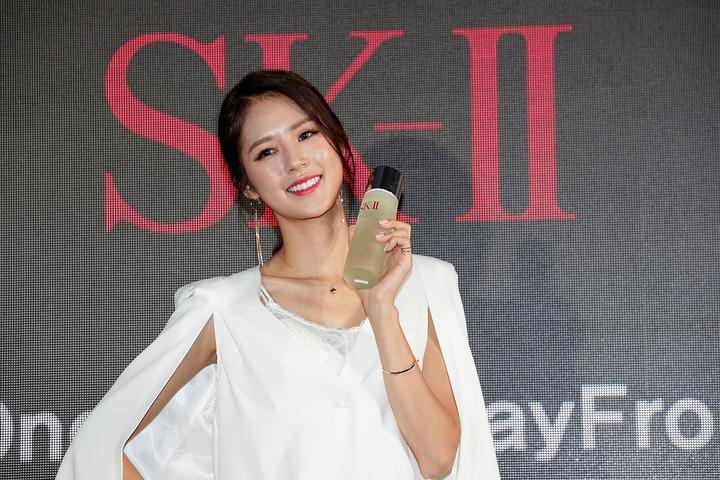 韓国チアの人気No.1を維持するパク・キリャンさん。いまや韓国を代表するインフルエンサーだ。(C)Getty Images