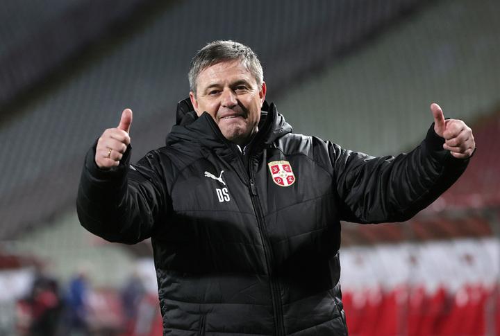 初陣を勝利で飾ったストイコビッチ監督は、11年ぶりの白星発進は非常に重要だ」と語った。(C)Getty Images