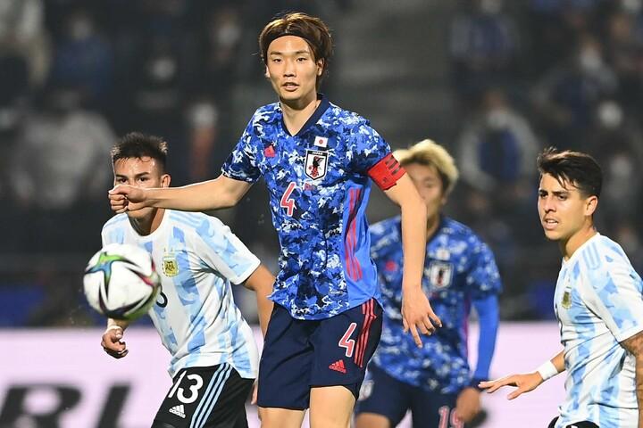 CKから2ゴールを奪った板倉をアルゼンチンメディアも称賛した。(C)Getty Images