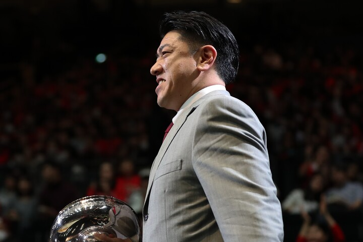 FIBA殿堂入りが決まった佐古氏。現役時代はアジア最高峰のポイントガードとして数々の実績を残した。(C)Getty Images