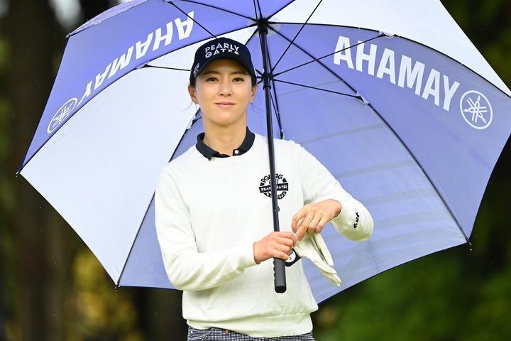 2年ぶりのホステス大会に気合十分のユン・チェヨン。(C)Getty Images