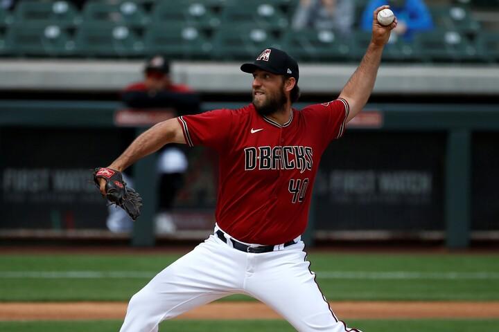 ダルビッシュから痛烈な二塁打を放ったバムガーナー。今季は本業でも活躍できるか。(C)Getty Images