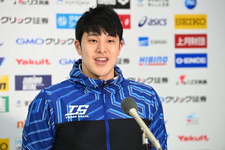 競泳で唯一東京五輪代表に内定している瀬戸。今大会は3種目にエントリーしている。写真:日本水泳連盟