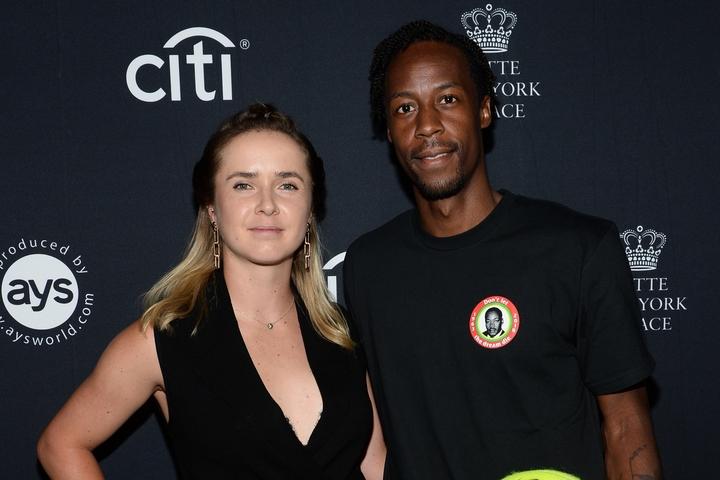婚約したスビトリーナとモンフィス。復縁発表からまさかの急展開となった。(C)Getty Images