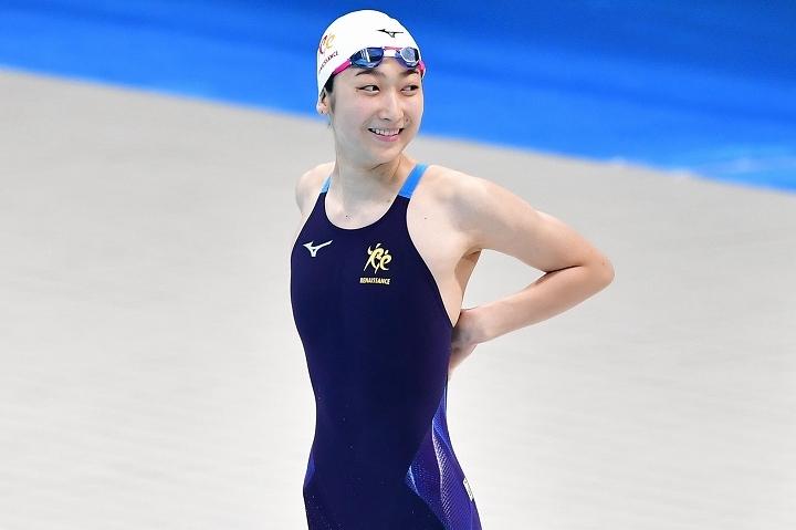 病と戦い抜いてきた池江は東京五輪への切符を掴んだ。 (C) Getty Images