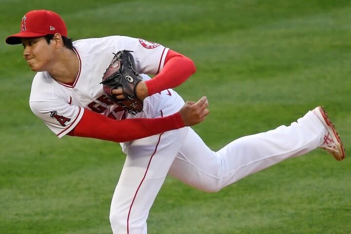投打に圧巻の活躍を見せた大谷。対峙したホワイトソックスの選手たちも衝撃を受けた。(C)Getty Images