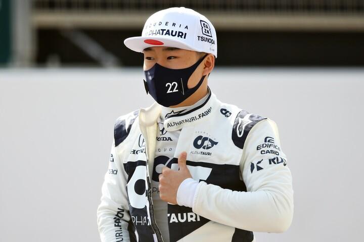 角田(写真)の新鮮な感覚とガスリーの経験が上手く噛み合えば、アルファタウリは他チームにない恩恵を得られそうだ。(C)Getty Images