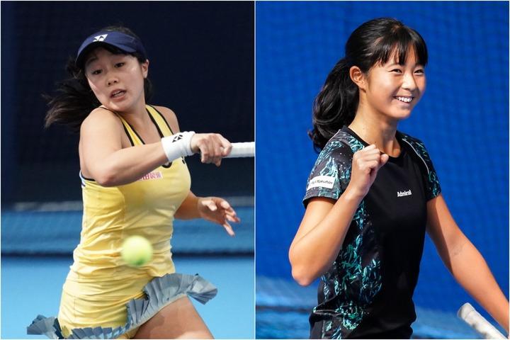 日本代表のエースとなる20歳の内藤祐希(左)。18歳の佐藤久真莉(右)も抜擢された。写真:THE DIGEST写真部