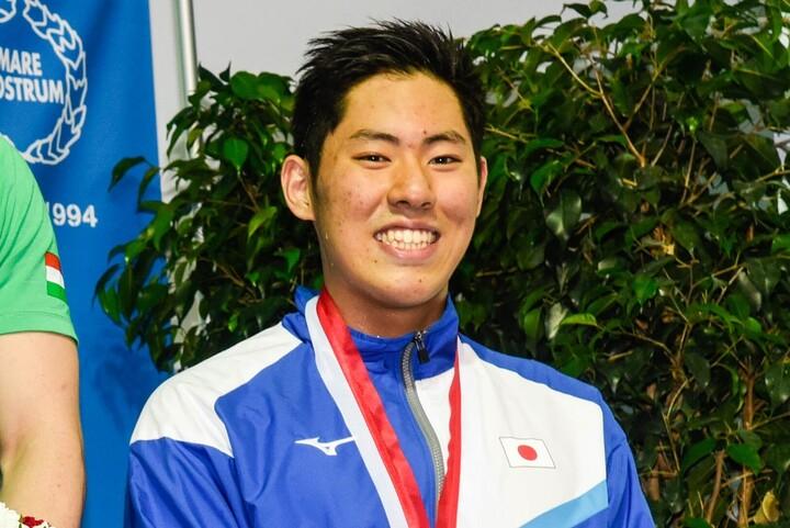 200メートルバタフライで東京五輪代表に内定した本多。(C)Getty Images