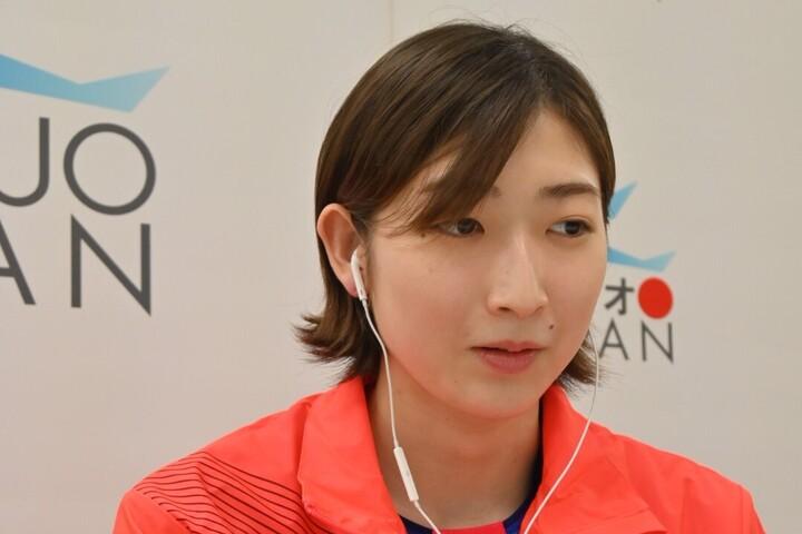 3年ぶりの『日本選手権』では4冠を達成した池江。写真:日本水泳連盟提供