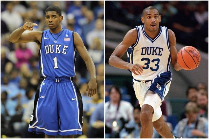 アービング(左)やヒル(右)を筆頭に多くの選手をNBAに送り込んできたデューク大のベストメンバーとは?(C)Getty Images