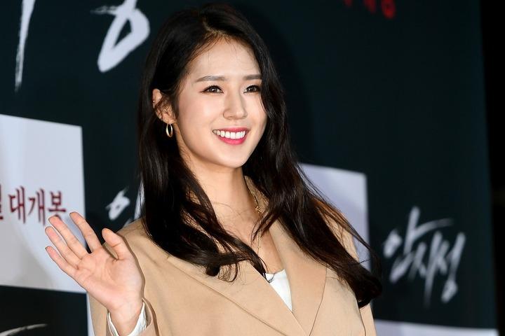 韓国の人気No.1チア、パク・キリャンさん。いまや女性の支持も厚いインフルエンサーだ。(C)AFLO