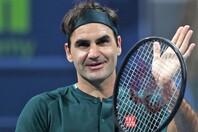 今年3月のカタール・オープン以来となる大会出場を表明したフェデラー(C)Getty Images