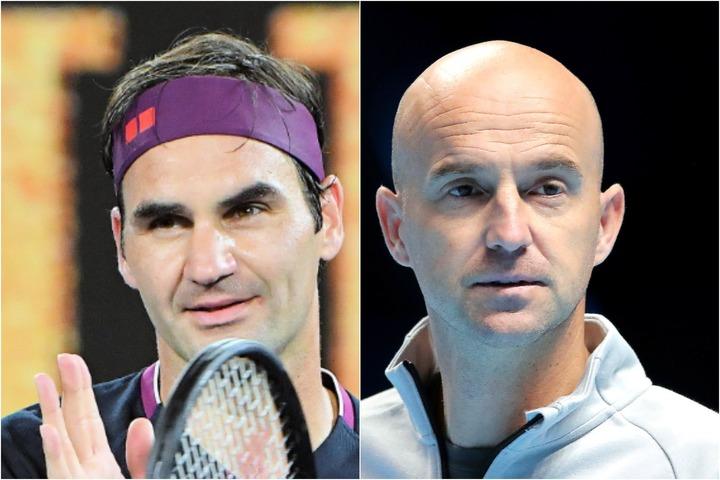 クレーコートでの戦いを前にしてフェデラー(写真左)のコーチを務めるリュビチッチ(右)が現在の状況を明かした。(C)Getty Images