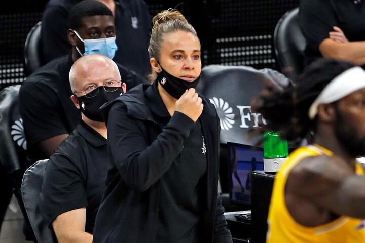 ハモンがHCとなれば、NBA初の女性指揮官誕生となる。ただ、そのことを良しとしない者がいるのも事実だろう。(C)Getty Images