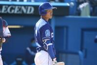 スーパースター候補・根尾がプロ初アーチを満塁弾で飾った。写真:山手琢也
