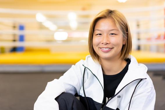 強さの中に優しさも合わせ持つ浅倉が、食生活や減量、そして格闘技について語った。写真:田中研治