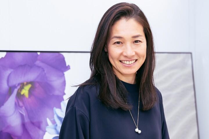 オリンピックで通常のパフォーマンスを発揮する難しさを話す伊達公子さん。写真:塚本凛平(THE DIGEST写真部)