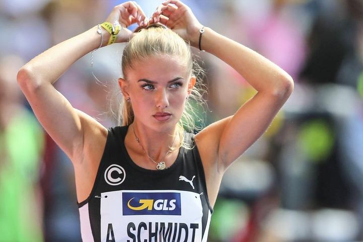 先週末のドイツ選手権では思うように記録を伸ばせなかったシュミット。東京五輪への道は──。(C)AFLO