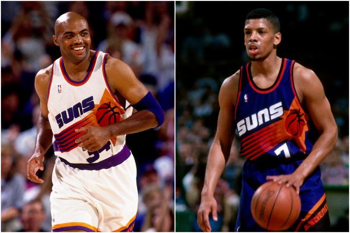 バークレー(左)とKJ(右)、性格は真逆な2人だが、その間には確かな絆があった。(C)Getty Images