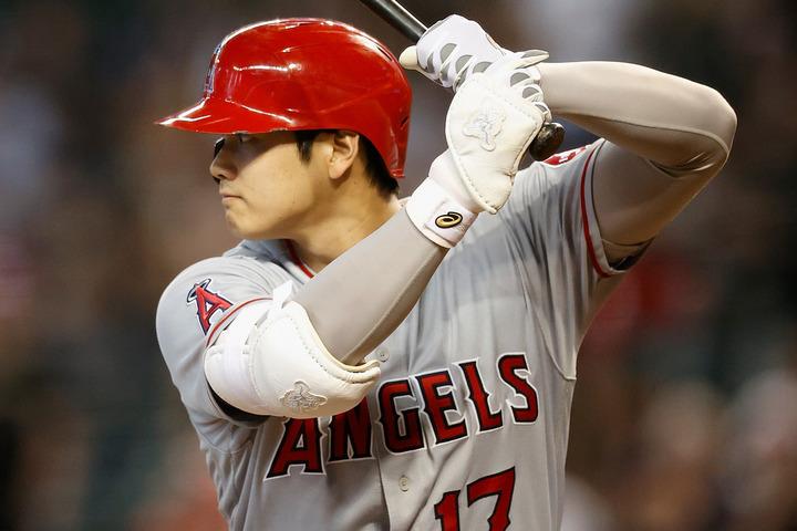 凄まじい打棒を見せる大谷。打球の「バレル率」は米球界でも頭一つ抜けている。(C)Getty Images