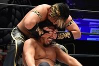 辻を相手に貫録の勝利を飾ったタイチは、試合後も余裕の振る舞いを見せた。(C)新日本プロレス