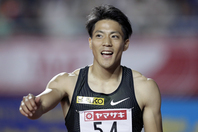 3大会連続五輪出場を狙う山縣が、24日開幕の日本選手権に挑む。(C)Getty Images