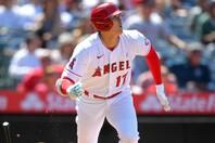 3度目の週間MVPを獲得した大谷だが、今日はノーヒットに終わり4試合連続本塁打とはならなかった。(C)Getty Images