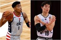 ついに日本代表に八村(左)と馬場(右)が合流する。(C)Getty Images