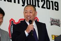 プロ野球界のレジェンド清原さんが米子松陰高の不戦敗取り消しを喜んだ。写真:THE DIGEST編集部
