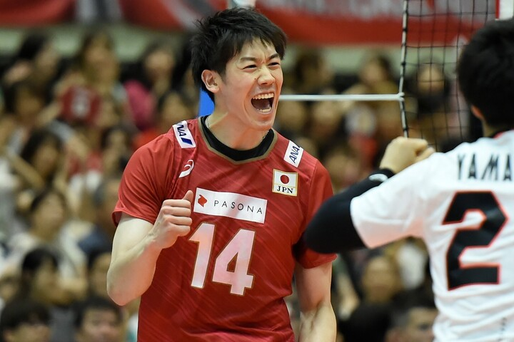 チームを牽引する石川祐希キャプテン。今や名実共に日本のエースとして活躍する。(C)Getty Images