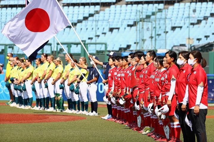 無観客で開催された日本vsカナダ戦。(C)Getty Images