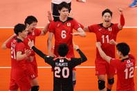 初戦、ベネズエラを相手にストレート勝ちを収めた日本。(C)Getty Images
