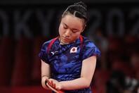 日本女子シングルス初の快挙を成し遂げた伊藤。しかしその目には悔し涙が光った。(C)Getty Images