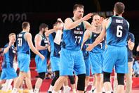 今大会を含めドンチッチ(77)が出場した試合でスロベニアは16戦無敗となっている。(C)Getty Images