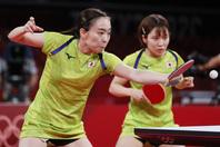 キャプテンの石川擁する日本チームは準決勝で香港を下し、3大会連続のメダルを確定させた。(C)Getty Images