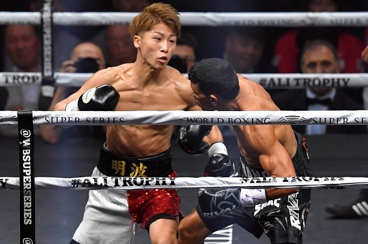 見事にWBSSを制した井上。そんな日本人ファイターにKO負けを喫していたパヤノが賛辞を贈った。 (C) Getty Images