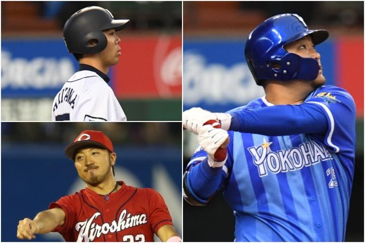 筒香、秋山、菊池のメジャー挑戦は平坦な道ではないが、だからこそ今後の日本球界にとって意義がある。写真:徳原隆元&田中研治