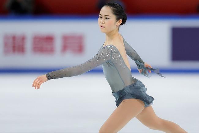 中国大会で2位という好成績を残し、自身初のGPシリーズ連戦に臨む宮原。(C) Getty Images