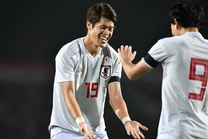 タジキスタンを3-0で下したカタールW杯アジア2次予選で、酒井は2アシストを記録した。写真:山崎賢人(THE DIGEST写真部)