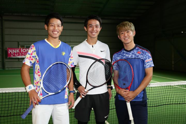 左から斉藤貴史、沼尻啓介、西岡良仁。写真は昨年のイベントのもの。写真:茂木あきら(THE DIGEST写真部)