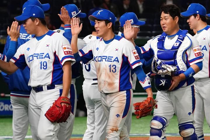 韓国は15日の試合でメキシコを下し、決勝進出を決めた。(C)Getty Images