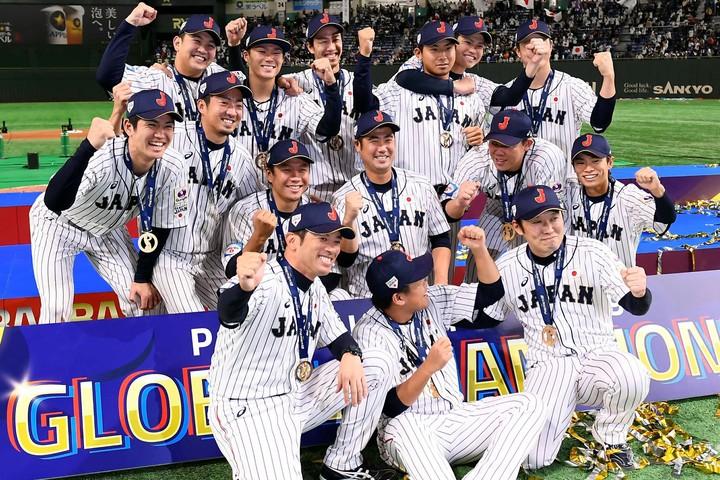 プレミア12初制覇を果たした侍ジャパン。決勝では宿敵・韓国を下した。写真:金子拓弥(THE DIGEST写真部)