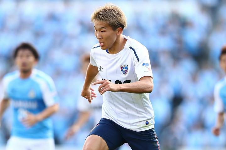 FC東京は31節の磐田戦をモノにして首位に再浮上。このまま逃げ切るには永井の攻守両面での活躍が不可欠だ。写真:茂木あきら(THE DIGEST編集部)