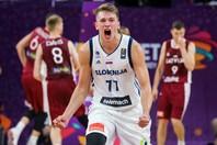 17年の欧州選手権でスロベニアの優勝に貢献したドンチッチ。東京五輪でその雄姿を見られるか。(C)Getty Images
