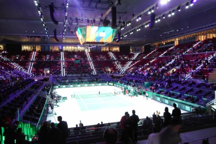 代表戦にもかかわらず、開催国スペイン以外の試合では観客席に空席が目立った。写真:スマッシュ編集部